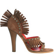 Western Fringe Shoes Adult