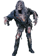 3D Zombie Costume Teen Boys