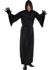 Black Horror Robe Adult