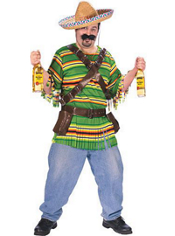 Plus Size Tequila Pop Dude Costume Adult