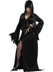 Plus Size Elvira Costume Adult