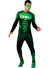 Green Lantern Hal Jordan Costume Teen Boys