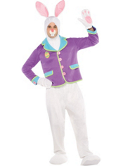 Adult Purple Bunny Costumer