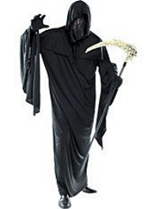Black Ghoul Robe Adult