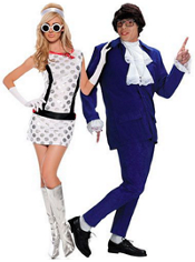 Miss Mod and Austin Powers Couples Costumes