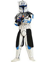 Star Wars Captain Rex Costume Boys Deluxe