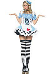 Miss Wonderland Alice Costume Adult