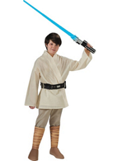 Star Wars Luke Skywalker Costume Boys Deluxe