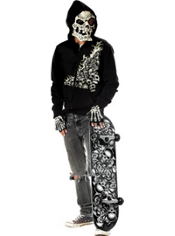 Teen Boys Bonehead Costume