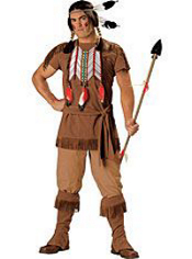Native American Brave Costume Adult Elite