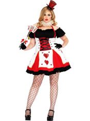 Plus Size Pretty Playing Card Costume Adult