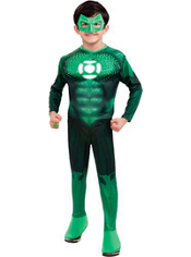 Light-Up Green Lantern Costume Boys Deluxe