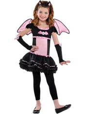 Bat to the Bone Bat Costume Girls