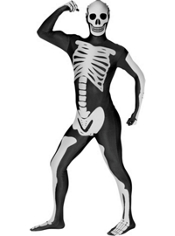Skeleton Morphsuit Adult