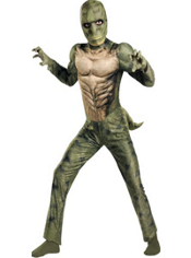 Spider-Man Muscle Lizard Costume Boys