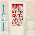 Dripping Blood Door Cover 65in