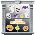 Vinyl Halloween Glitter Decorations 11pc