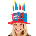 Dr. Seuss Birthday Cake Hat