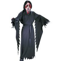 Scream Bleeding Ghost Face Costume Boys