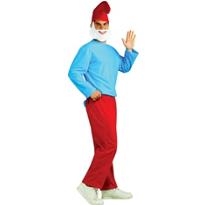 Papa Smurf Costume Adult