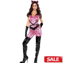 Adult Bad Kitty Costume