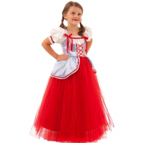 Girls Princess Dot Costume